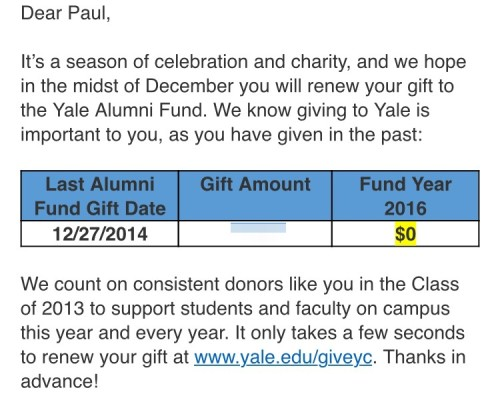 yale consistency email