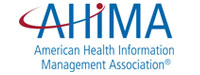 Photo of AHIMA, a conference where Paul Cohen, primary care executive, is speaking