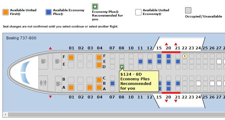 united airways contextual alert